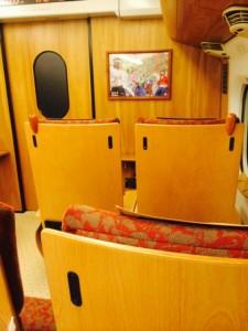 九州新幹線座席(H26.8.2)